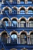 ny klasyczny domowy Manhattan zdjęcia royalty free