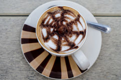 Ny kopp av choklad Royaltyfri Foto