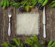 Ny kulinarisk bakgrund Arkivfoto
