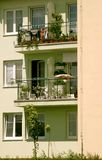 ny lägenhet Arkivfoto