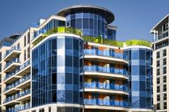 ny lägenhetmärkesledare Royaltyfria Bilder
