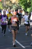 ny löpare york för stadsingmaraton Royaltyfri Foto