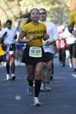 ny löpare york för stadsingmaraton Arkivbild