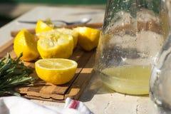 ny lemonade Arkivfoton