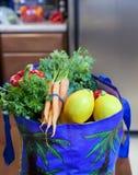 ny livsmedelsbutikproduce för påse Fotografering för Bildbyråer