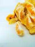 ny mandarinorange Arkivbilder