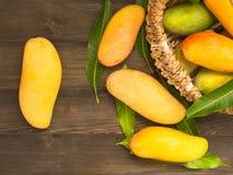 ny mango Fotografering för Bildbyråer