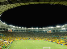 Ny Maracana stadion för världscupen 2014 Arkivfoton