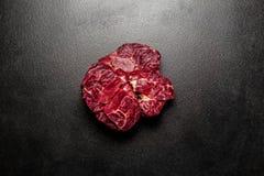 Ny marmorerad köttbiff Fotografering för Bildbyråer