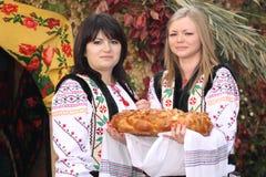 Ny mat i Moldavien Fotografering för Bildbyråer
