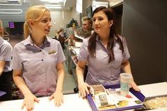 Ny McDonald ` s på den Grodzka gatan, Cracow Royaltyfri Fotografi
