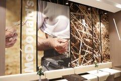 Ny McDonald ` s på den Grodzka gatan, Cracow Royaltyfria Bilder