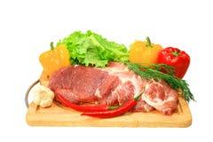 ny meat Royaltyfri Foto
