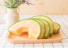 ny melon för cantaloupe Royaltyfria Bilder