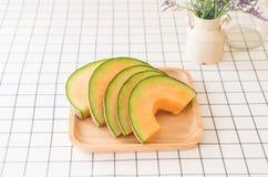 ny melon för cantaloupe Royaltyfri Foto