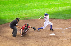 NY Mets third baseman David Wright Royalty Free Stock Photography