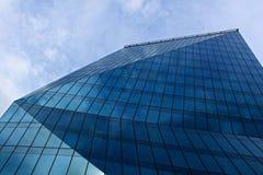 Ny modern kontorsbyggnad Arkivfoto