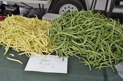 Ny mogen jordbruksprodukter visat till salu Arkivbilder