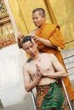 ny monk Royaltyfri Foto