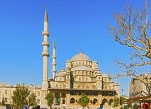 Ny moské i Istanbul, Turkiet Fotografering för Bildbyråer