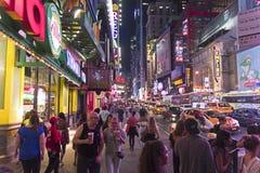 ny natt york Arkivfoto