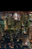 ny natt york för stad Arkivfoton
