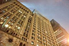 ny natt york för stad Arkivfoto