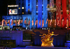 ny natt york för val Arkivbild