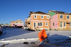 Ny Neighbourhood Arkivbilder