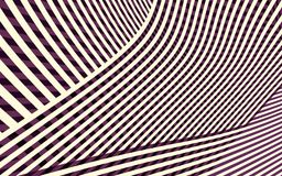 Abstract Curve Stripe Pattern Stock Photos