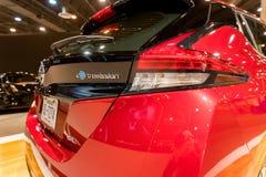 Ny Nissan BLADelbil 2018 arkivfoto