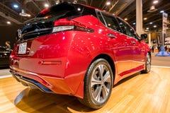 Ny Nissan BLADelbil 2018 royaltyfri bild