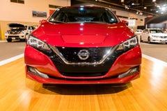 Ny Nissan BLADelbil 2018 arkivfoton