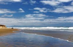 ny nittio zealand för strandmile Royaltyfri Foto