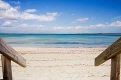 ny norra delen av ett landrangiputa zealand för 2 strand Royaltyfria Bilder