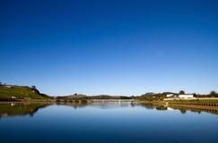 ny norra delen av ett landtaipa zealand för bred flodmynning Fotografering för Bildbyråer