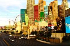 NY NY赌博娱乐场和旅馆 库存照片