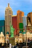 NY NY赌博娱乐场和旅馆 库存图片