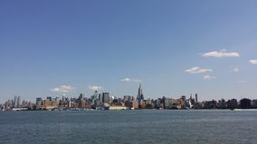 Ny nyc new york sky skies skyline Royalty Free Stock Photo