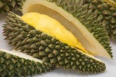 Ny och läcker durian, konung av frukter Arkivbilder