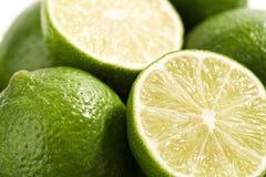 Ny och saftig limefruktnärbild Royaltyfri Foto