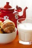 ny och sund frukost Arkivfoton