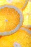 ny orange Fotografering för Bildbyråer