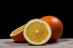 Ny orange frukt royaltyfri bild