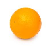 Ny orange frukt som isoleras på vit bakgrund med att fästa ihop PA Royaltyfri Fotografi