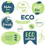Ny organiskt, frigör gluten, bio 100%, högvärdig kvalitet, lokalt Royaltyfri Fotografi