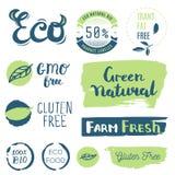 Ny organiskt, frigör gluten, bio 100%, högvärdig kvalitet, lokalt Arkivbilder