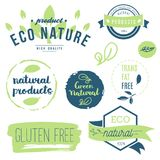 Ny organiskt, frigör gluten, bio 100%, högvärdig kvalitet, lokalt Arkivfoton