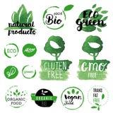 Ny organiskt, frigör gluten, bio 100%, högvärdig kvalitet, lokalt Royaltyfri Bild