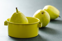 Ny päronfrukt Arkivbild